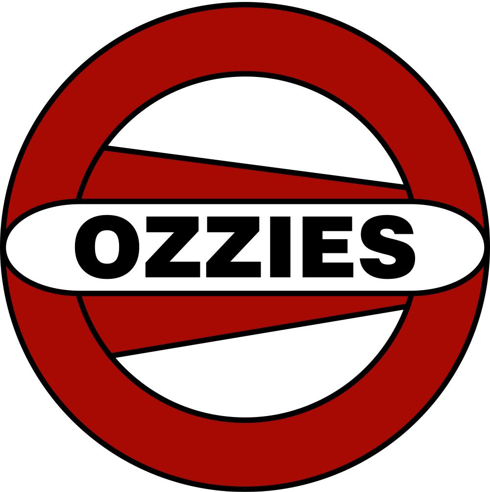 Ozzies Logo White