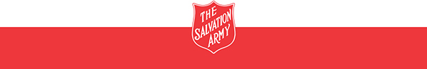 The Salvation Army Footer