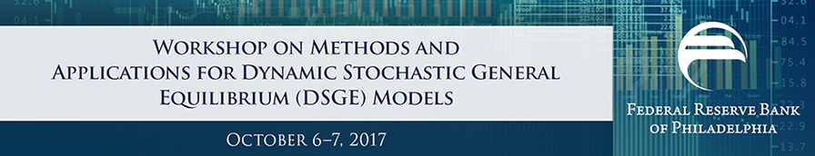 Workshop on Methods and Applications for Dynamic Stochastic General Equilibrium (DSGE) Models