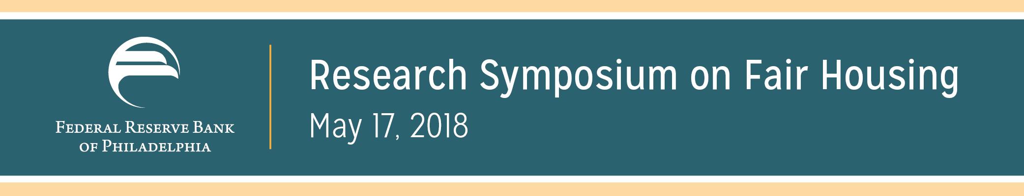Research Symposium on Fair Housing