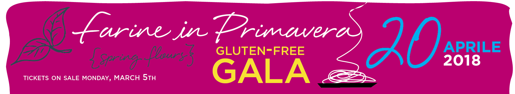 Spring Flours Gluten-Free Gala 2018