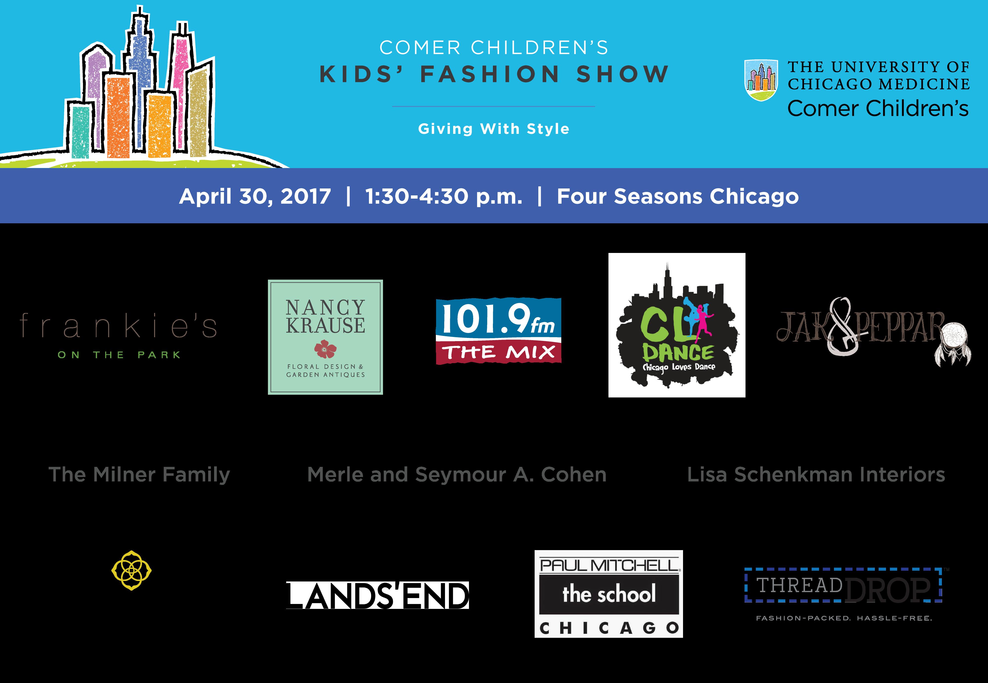 Comer Children's Kids' Fashion Show
