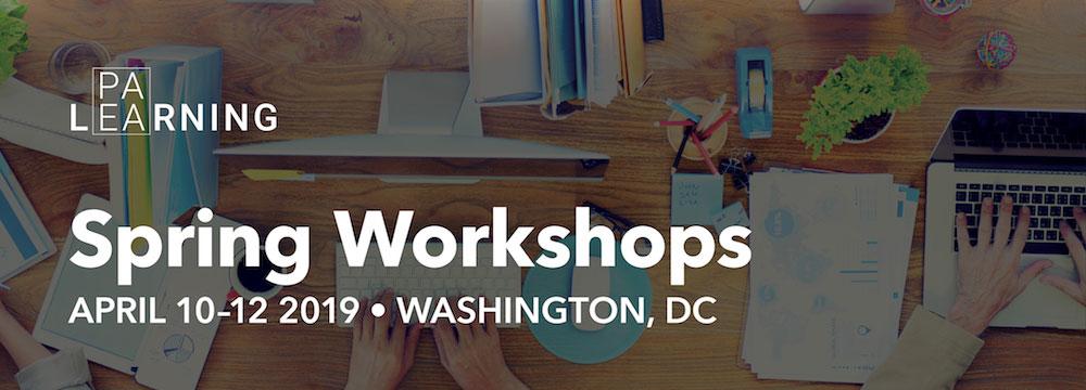 Spring 2019 PAEA Workshops