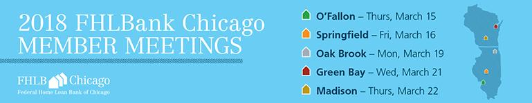 2018 FHLBank Chicago Member Meetings