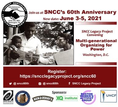 SNCC 60th flyer - sponsors