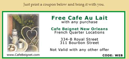 cafe coupon