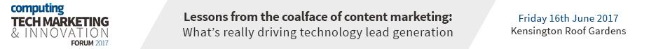 Computing Tech Marketing & Innovation Forum 2017