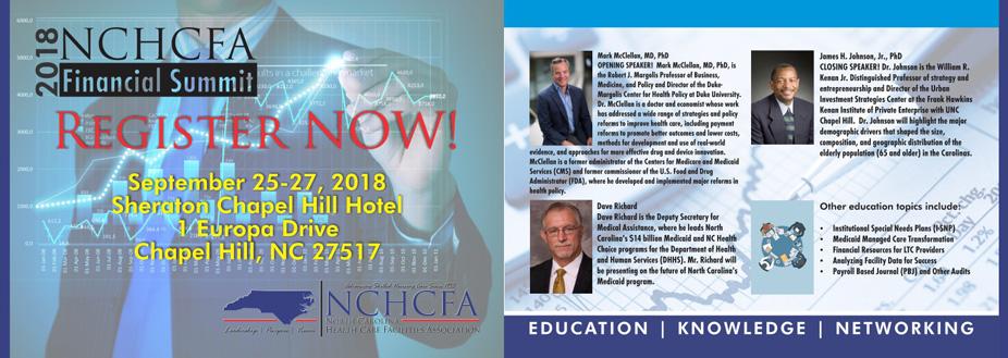 2018 NCHCFA Financial Summit