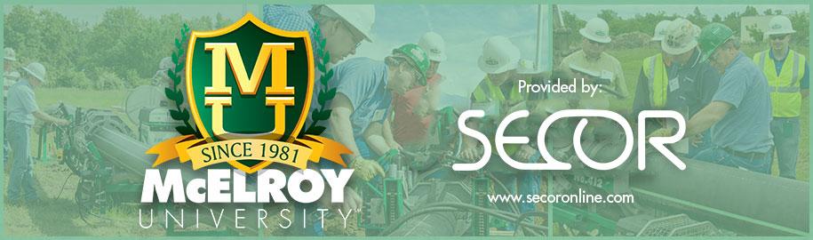 McElroy University 2017 - SECOR