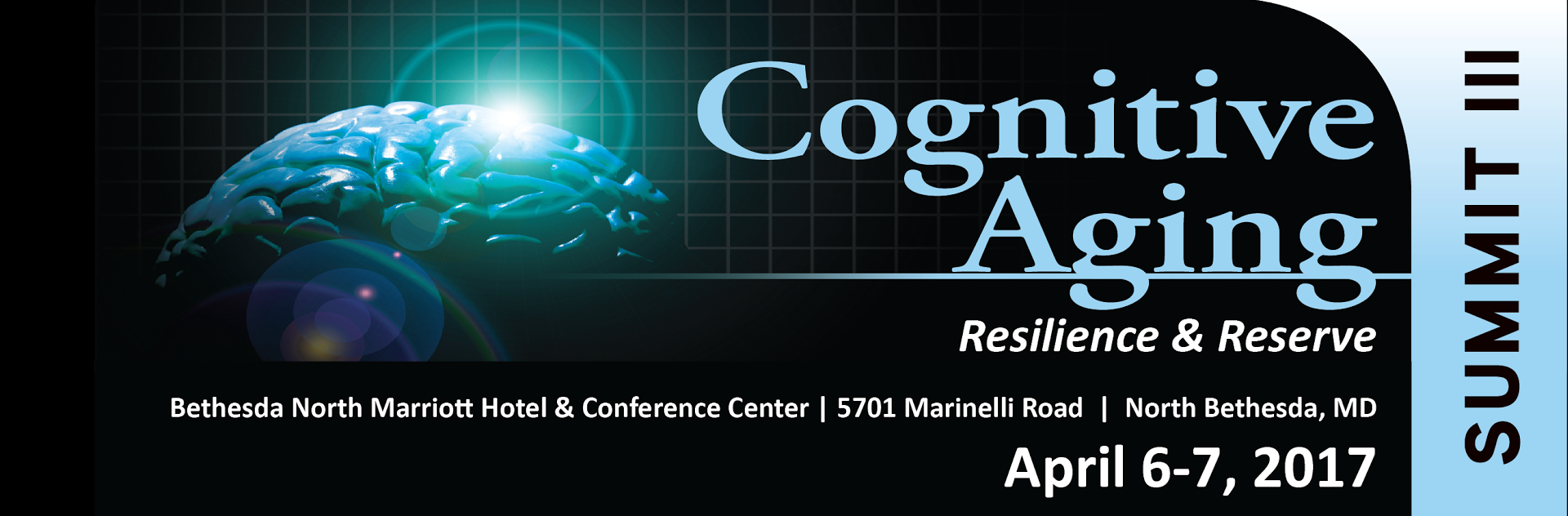 Cognitive Aging Summit III web banner - NO LOGOS e