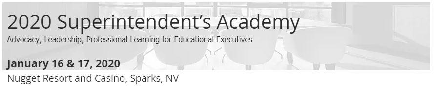 2020 Superintendent's Academy