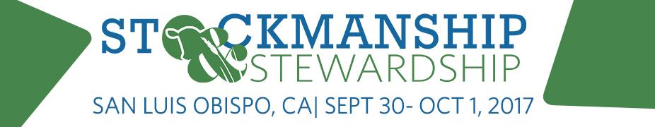 Stockmanship & Stewardship - San Luis Obispo