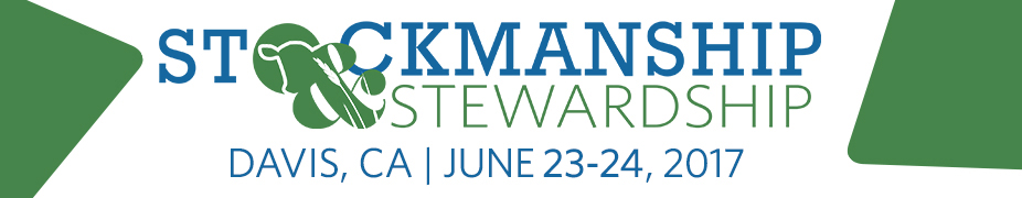 Stockmanship & Stewardship - Davis, CA