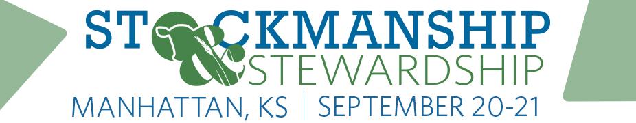 2019 Stockmanship & Stewardship - Manhattan, Kansas
