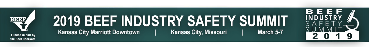 2019 Beef Industry Safety Summit