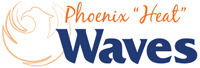 Phoenix Waves wordmark - Pepperdine University