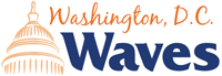 Washington Waves wordmark - Pepperdine University