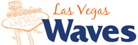 Las Vegas Waves wordmark - Pepperdine University