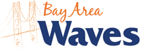 Bay Area Waves wordmark - Pepperdine University