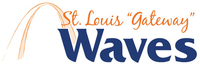 St. Louis Waves wordmark - Pepperdine University