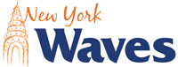 New York Waves wordmark - Pepperdine University