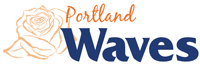 Portland Waves wordmark - Pepperdine University