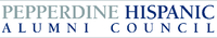 Pepperdine Hispanic Alumni Council wordmark - Pepperdine University