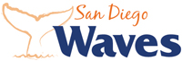 San Diego Waves wordmark - Pepperdine University