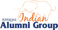 Pepperdine Indian Alumni Group wordmark - Pepperdine University