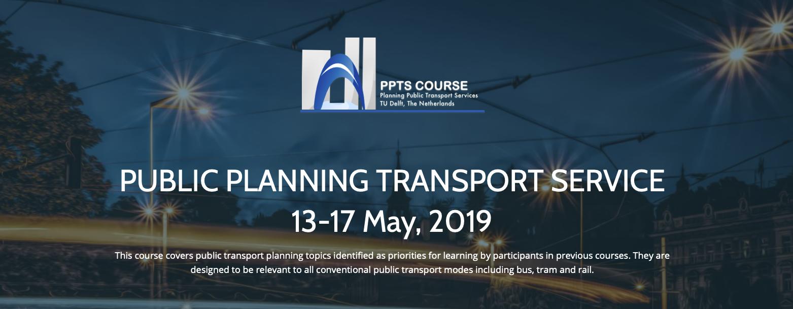 Planning Public Transport Services 2019 (PPTS19)