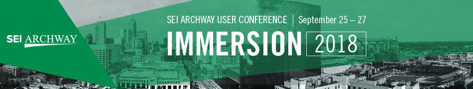 SEI Archway Immersion 2018