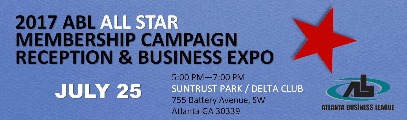 2017 ABL ALL-STAR MEMBERSHIP CAMPAIGN RECEPTION & BUSINESS EXPO