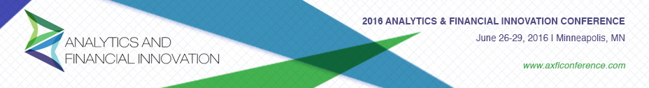 2016 Analytics and Financial Innovation Conference