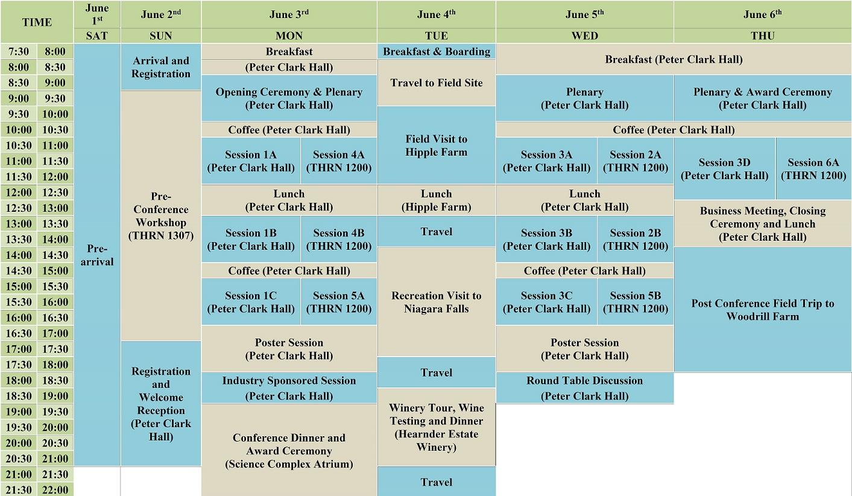 Schedule2 - Pedometrics 2019