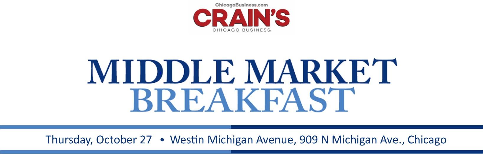 Crain's Middle Market Breakfast