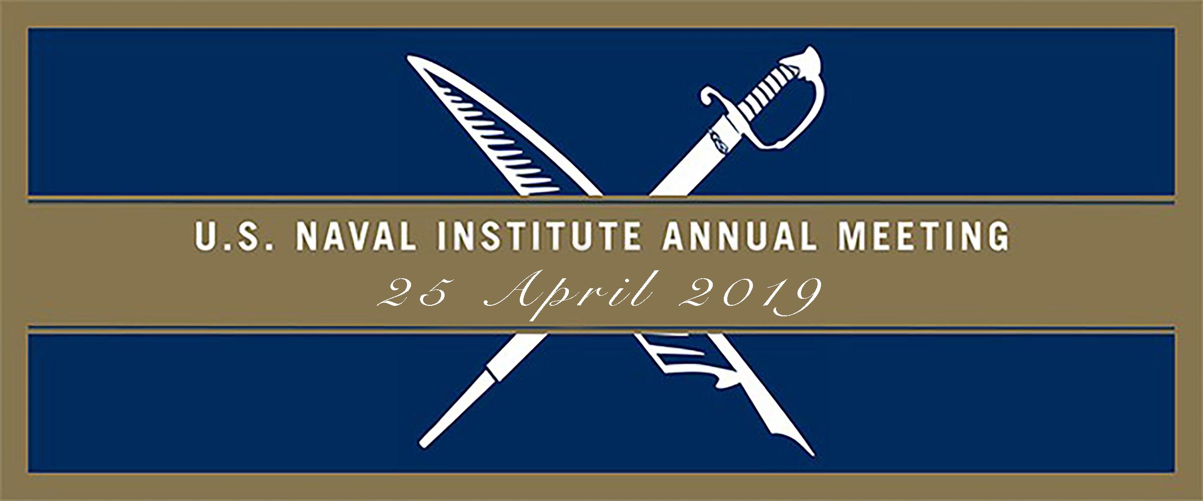 2019 U.S. Naval Institute Annual Meeting