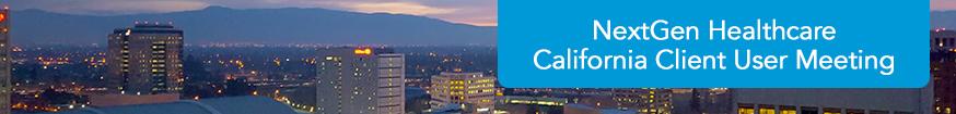 NextGen Healthcare California Client User Meeting 2017