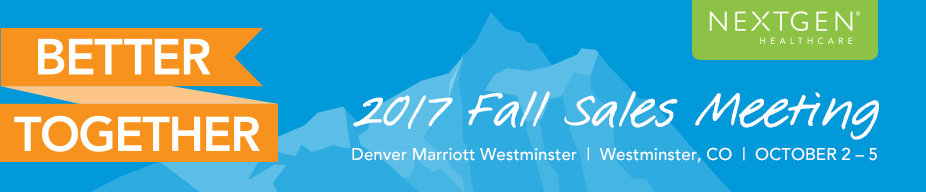 Fall Sales Meeting 2017