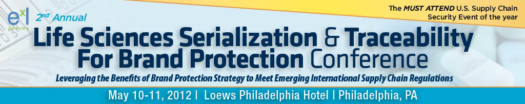 2nd Life Sciences Serialization & Traceability for Brand Protection Conference