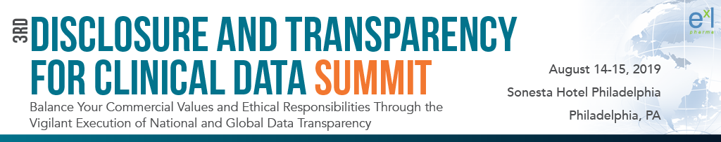 3rd Disclosure and Transparency for Clinical Data