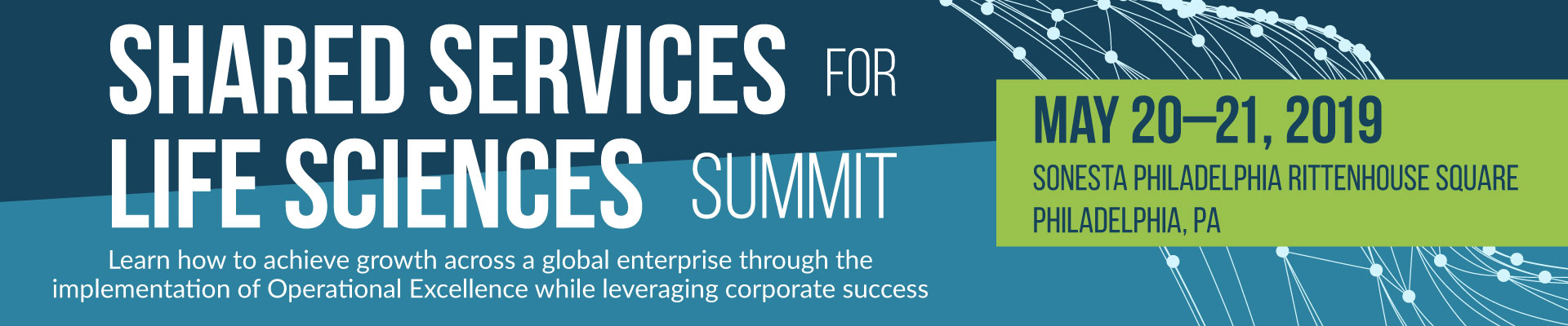 Shared Services for Life Sciences Summit