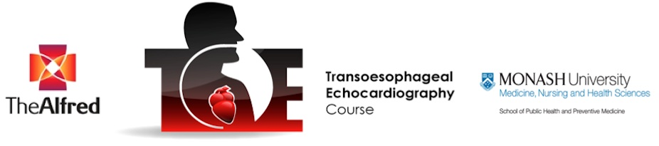 The Alfred Transoesophageal Echocardiography (TOE) Course MAR 2015