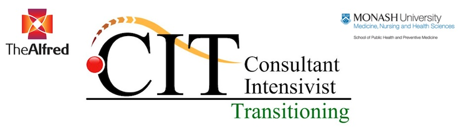Consultant Intensivist Transitioning Course (CIT) AUG 2014