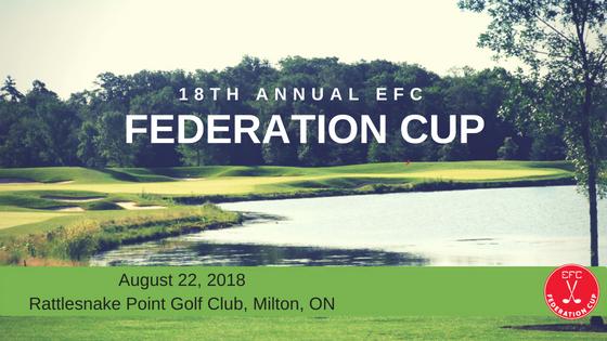 18th Annual EFC Federation Cup Golf Tournament