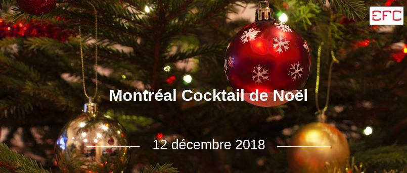 Montréal Cocktail de Noël 2018