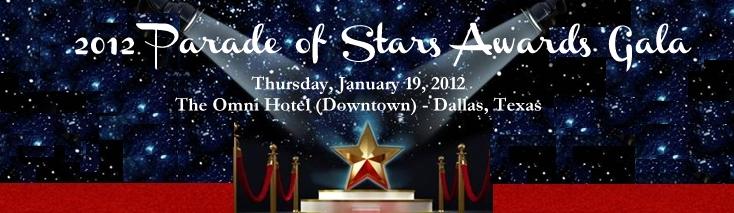 2012 Parade of Stars Awards Gala