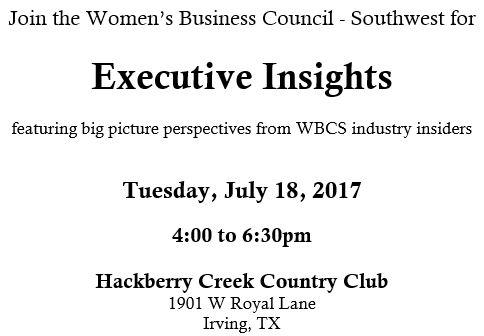 2017 Executive Insights Summary 1