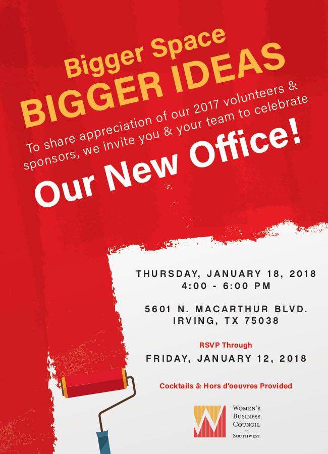 2018 Office Unveiling Evite