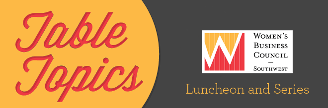 2017 April Table Topics Luncheon