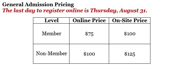 General Admission Pricing